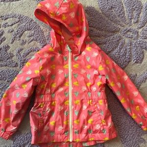 Cat and jack windbreaker size 3t